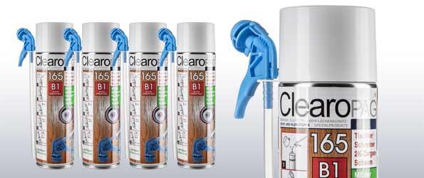 ClearoPAG 165 speziell für Tischler und Schreiner CP165