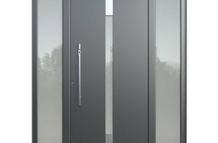 Pirnar-alu-eingangstuer-optimum-carbon-core-7180-vsg-satinato-glas