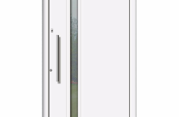 Pirnar-alu-eingangstuer-optimum-carbon-core-7310-weiss-satinato-glas-vsg-glas
