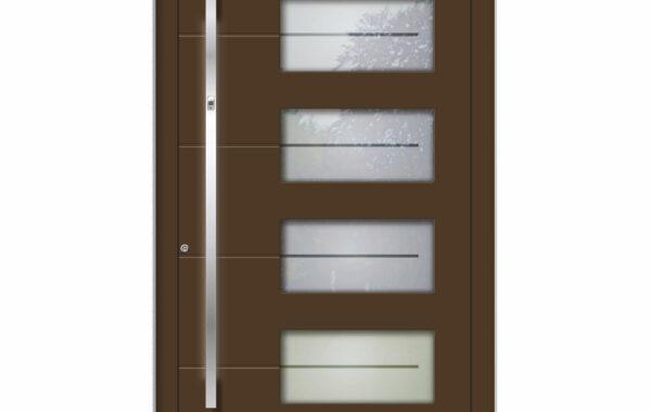 Pirnar-alu-eingangstuer-optimum-carbon-core-7410-glas-mit-motiv-eckig-aussengriff-lux-beleuchtung-1