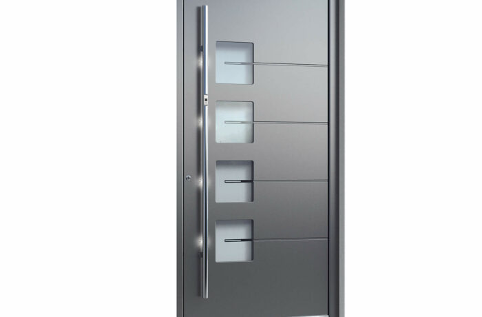 Pirnar-alu-eingangstuer-optimum-carbon-core-7460-glas-mit-motiv-vsg-glas