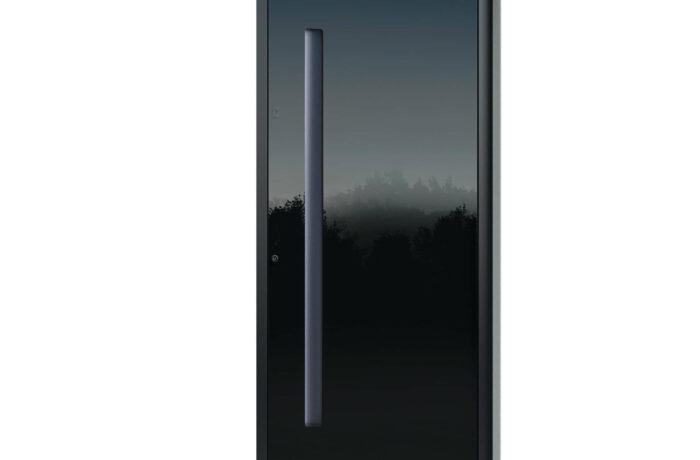 Pirnar-alu-eingangstuer-optimum-carbon-core-7510-esg-glas-night-sky-gloss