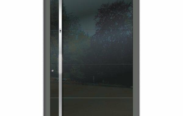 Pirnar-alu-eingangstuer-premium-6009-eckig-aussengriff-magmalux-esg-glas-night-sky-gloss-1