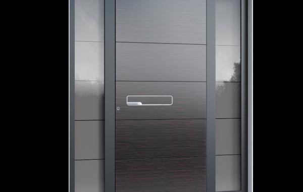Pirnar-alu-eingangstuer-premium-6010-esg-glas-african-mistery-gloss-aussengriff-luxor