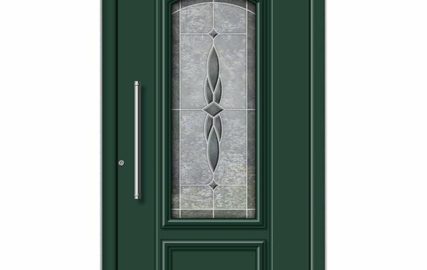 Pirnar-alu-eingangstuer-premium-classico-3142-gruen-bleiverglasung-mit-motiv-1