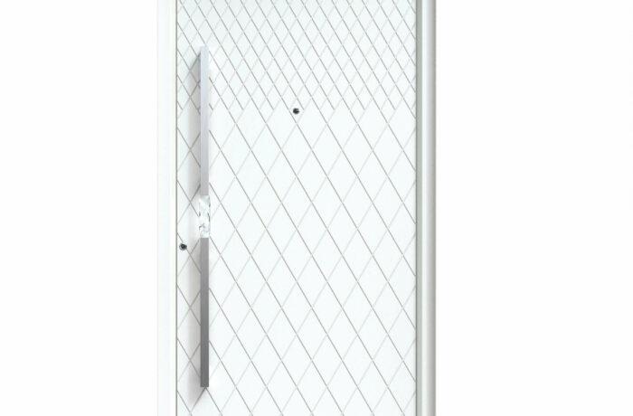 Pirnar-alu-eingangstuer-premium-classico-3310-weiss-aussengriff-eckig-crystalux-tuerspion