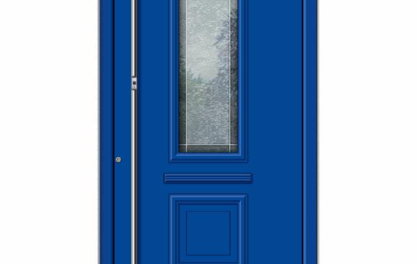 Pirnar-alu-eingangstuer-premium-classico-3340-blau-bleiverglasung-mit-motiv-1