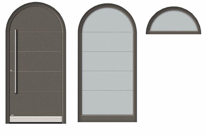 Pirnar-aluminium-pirnar-eingangstuer-rundbogen