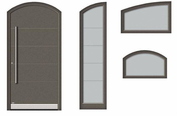 Pirnar-aluminium-pirnar-eingangstuer-stichbogen