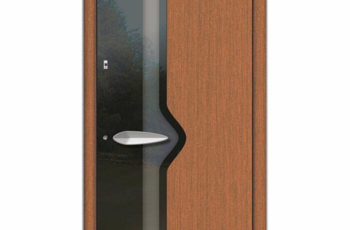 Pirnar-haustueren-holz-premium-0180-fichte-esg-glas-mit-schwarzem-motiv-aussengriff-nautilus-1