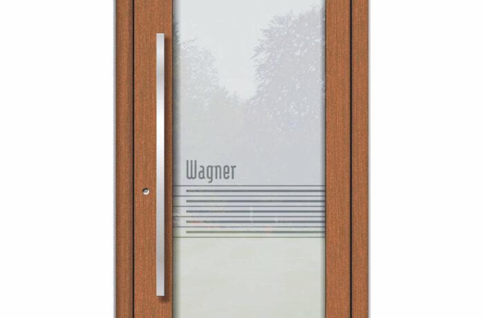 Pirnar-haustueren-holz-premium-1004-fichte-eckig-aussengriff-glas-mit-motiv