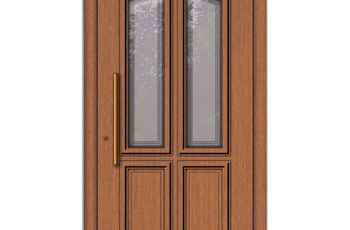 Pirnar-holz-eingangstuer-premium-classico-3181-bronze-effekt-class-aussengriff-satinato-glas-mit-motiv